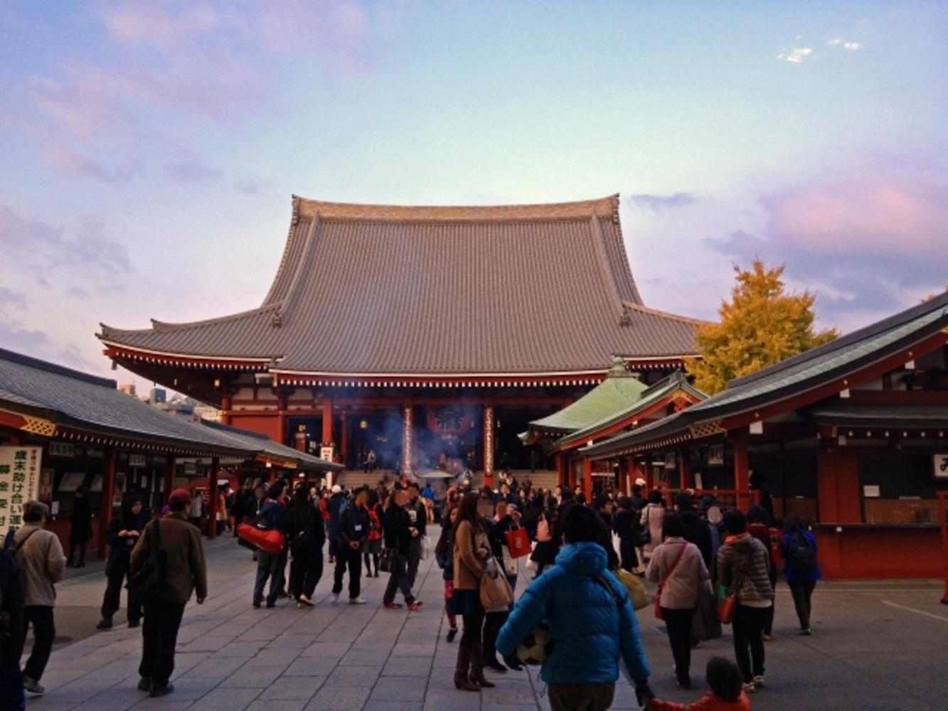 Sensō-ji (浅草寺) : Sensoji Temple