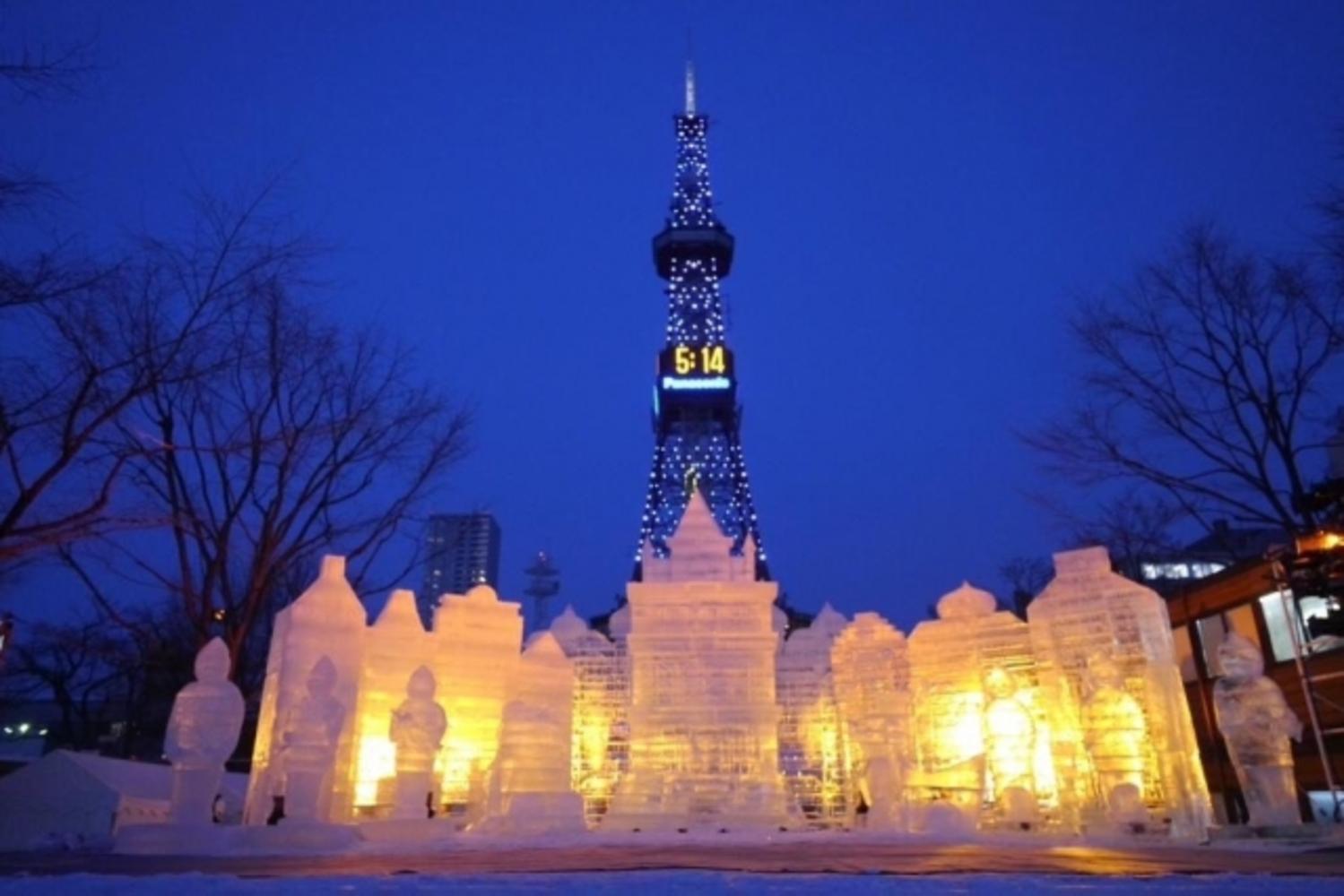 Sapporo Snow Festival札幌雪まつり: Sapporo Yuki Matsuri